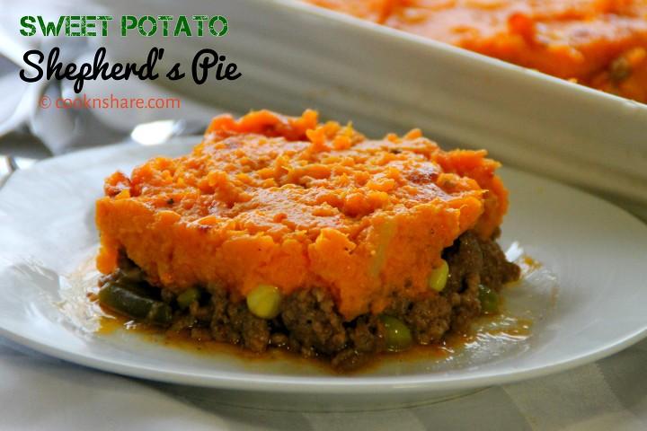 Sweet potato shepherds pie cook n share world cuisines sweetpotatosheherdpie forumfinder Images