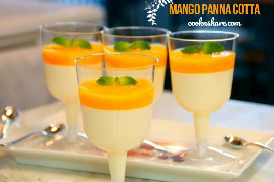 Mango Panna Cotta