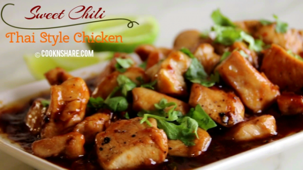 Sweet Chili Thai Style Chicken