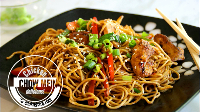 Chicken chow mein cook n share world cuisines chicken chow mein forumfinder Image collections