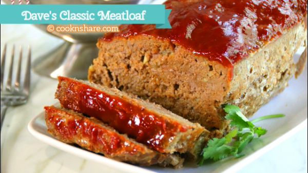 Juicy Savory Meatloaf