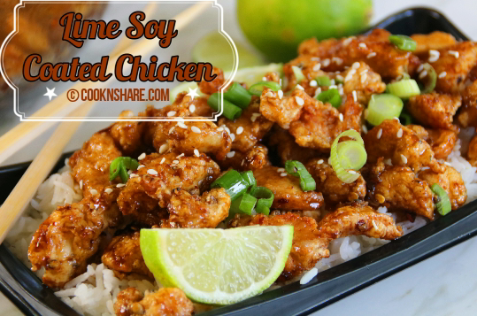 Lime Soy Coated Chicken