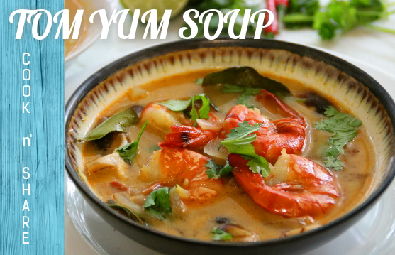 Easy Tom Yum Soup in 30 Minutes