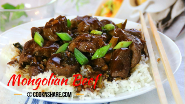 Mongolian Beef Make Easy