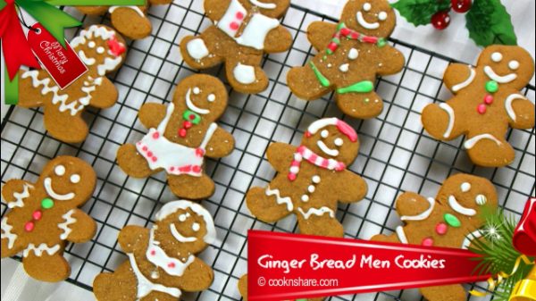 Gingerbread Men Cookies – Cook n' Share