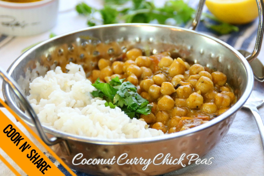 Coconut Curry Chickpea