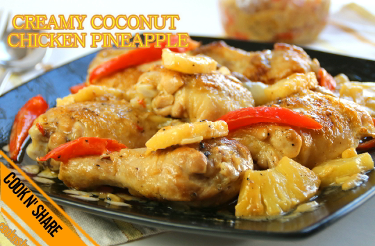 Creamy Chicken Pineapple in 30 Minutes