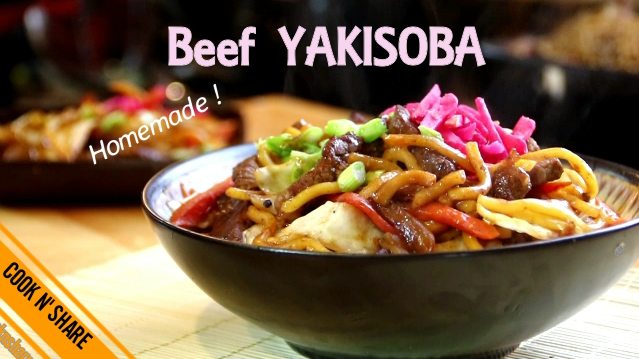 Beef yakisoba cook n share world cuisines beef yakisoba is a japanese dish that can be made up quickly and easily i make it up once a month and my family and friends love it forumfinder Gallery