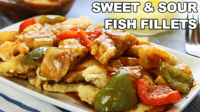 sweet and sour fish fillets