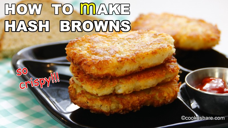 how to cook homemade hash browns