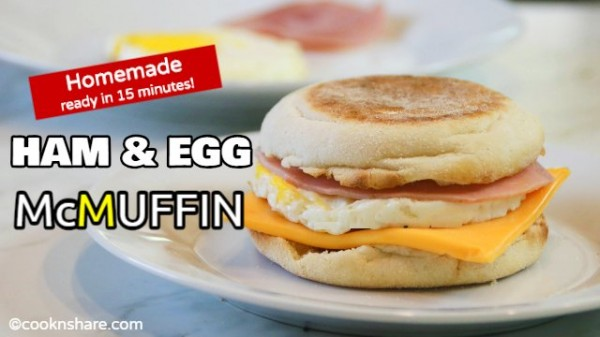 Egg McMuffin at Home