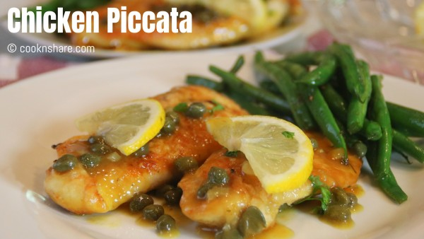 Chicken Piccata in in 20 minutes