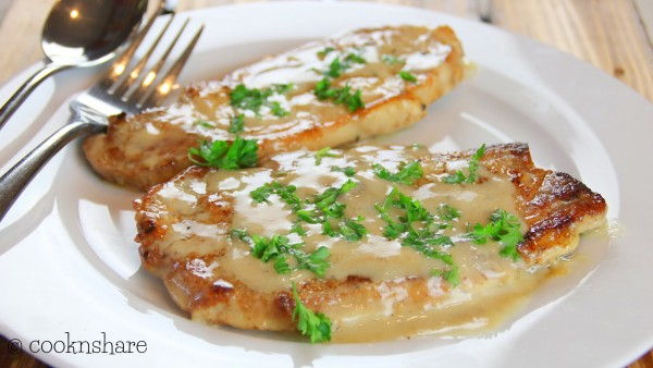 Cream of Mushroom Pork Chops in Twenty Minutes