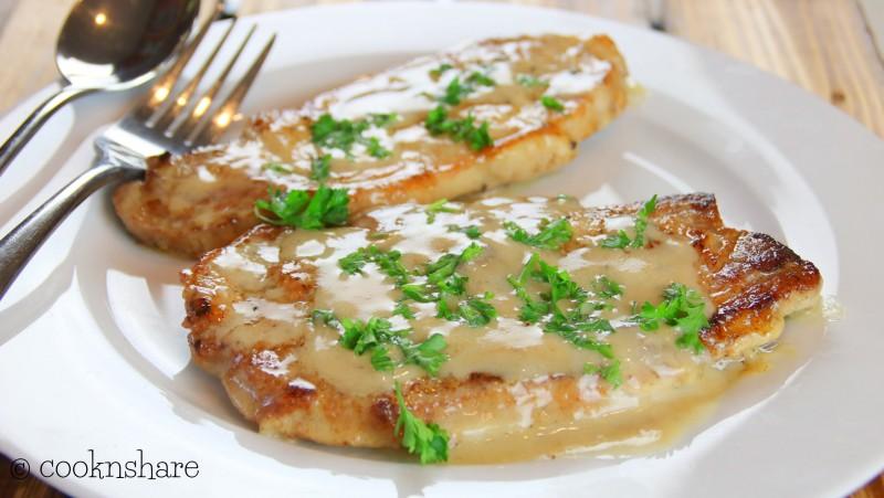 cream of mushroom porkchops
