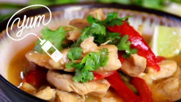 Thai Style Coconut Chicken in 30 Minutes
