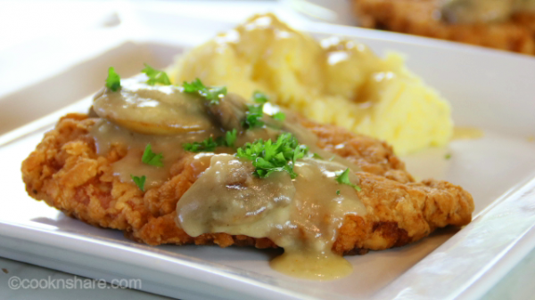 Chicken Fried Steak with Gravy in 30 Minutes