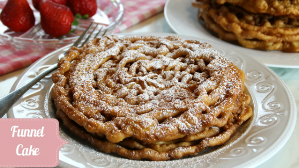Festive Funnel Cake Recipe