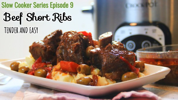 Savory Slow Cooker Beef Ribs