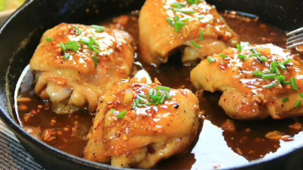 One Pan Honey Butter Chicken in 30 Minutes