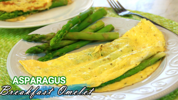 Delicious Asparagus Omelette