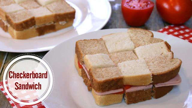 checkerboardsandwich