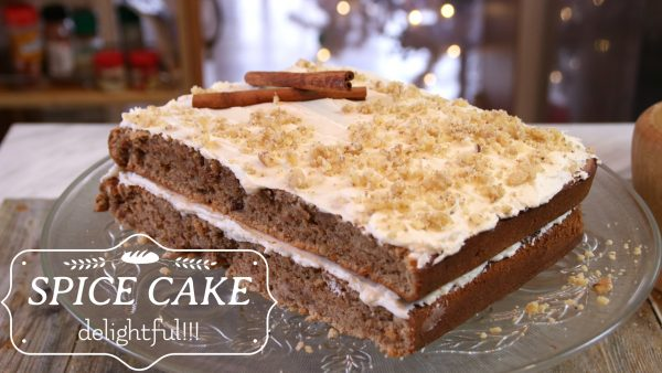Moist and Decadent Spice Cake