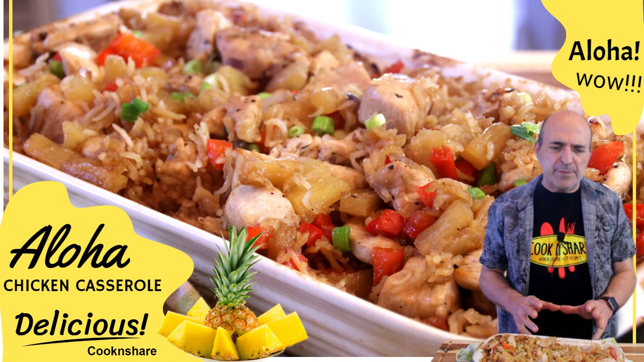 aloha chicken and rice casserole